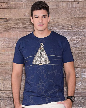Camiseta Nossa Senhora de Nazaré - Coleção Ágape
