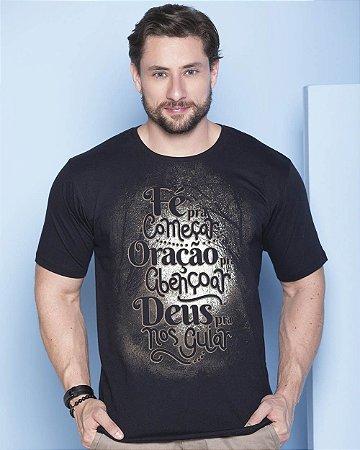 Camiseta Fé para Começar - Coleção Ágape