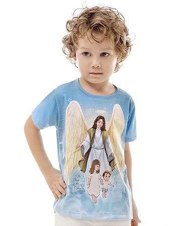 Camiseta Infantil Anjo da Guarda