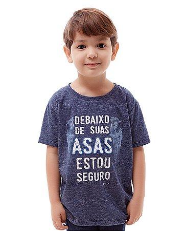Camiseta Infantil Debaixo de Suas Asas