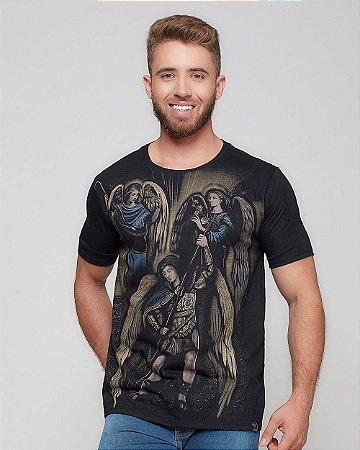 Camiseta Três Arcanjos