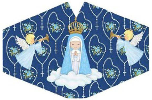 Máscara de Proteção Infantil - Nossa Senhora Aparecida