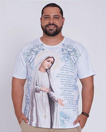 Camisa Plus Size -  Nossa Senhora de Fátima