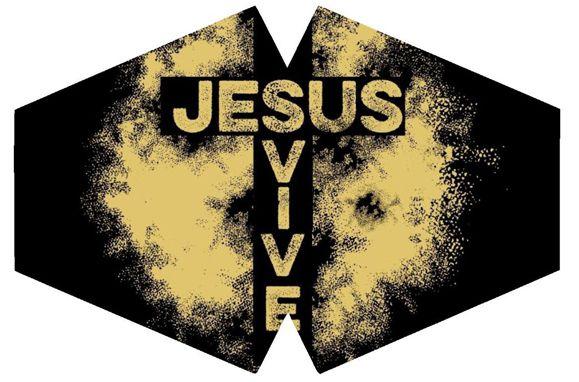 Máscara de Proteção Adulto - Jesus Vive