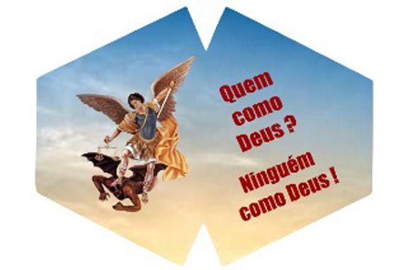 Máscara de Proteção Adulto - São Miguel