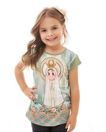 Baby Look Infantil Fatiminha
