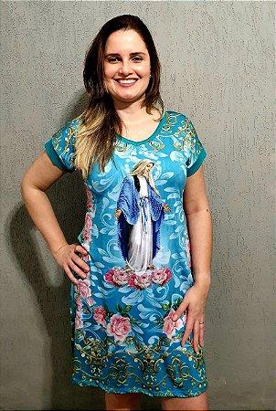 Vestido Nossa Senhora das Graças - Coleção Pedraria