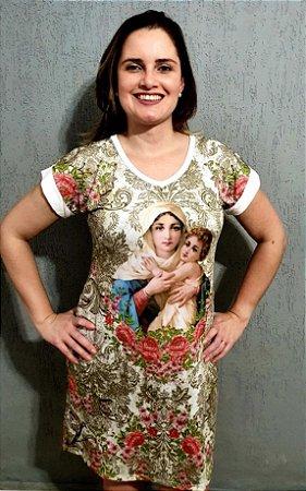 Vestido Mãe Rainha - Coleção Exclusiva