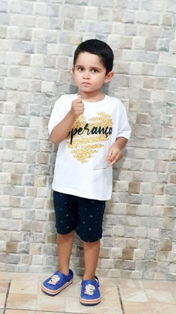 Camisa Esperança - Infantil Menino