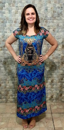 Vestido Longo Nossa Senhora Aparecida
