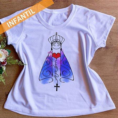 T-shirt Nossa Senhora Aparecida Infantil