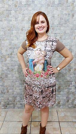 Vestido Mãe Rainha - Coleção Pedraria