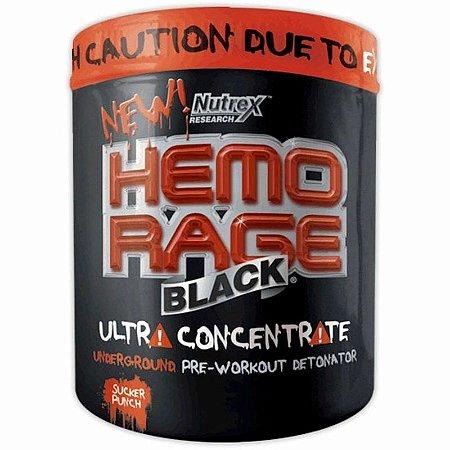 HEMO RAGE BLACK ULTRA CONCENTRADO - NUTREX 50 doses