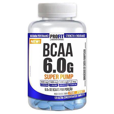 BCAA 6.0G SUPER PUMP 120 TABS - PROFIT