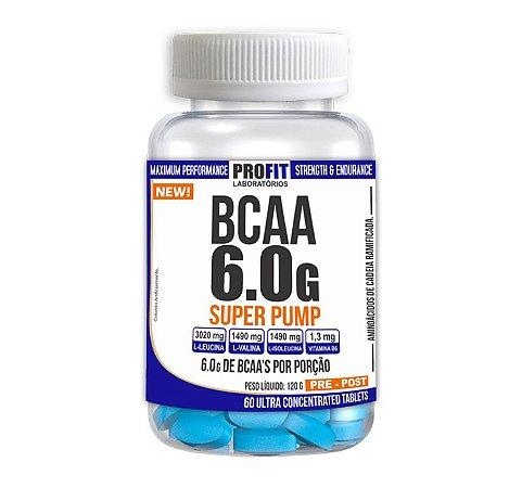 BCAA 6.0g SUPER PUMP 60 TABS – PROFIT