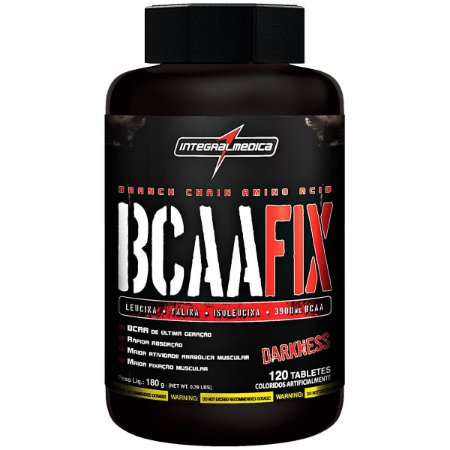 BCAA FIX DARKNESS 120 TABS - INTEGRALMEDICA