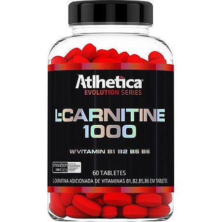 L-CARNITINE 1000 60 TABS - ATLHETICA NUTRITION