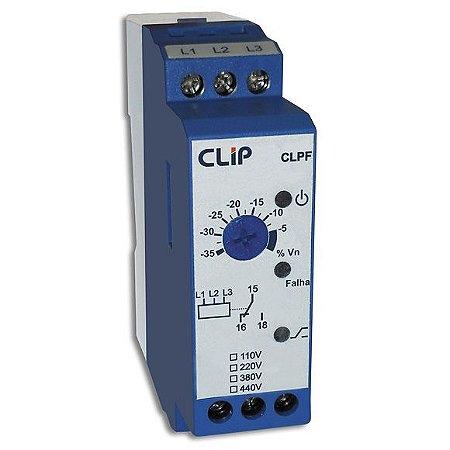 RELE FALTA DE FASE TRIF CLPF 220V/60Hz Clip GdH4