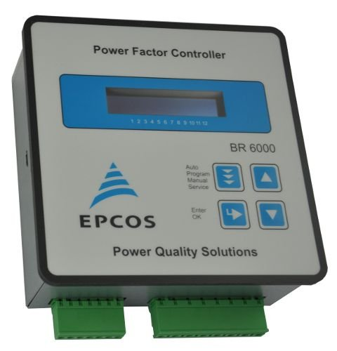 CONTROLADOR DE FATOR DE POTÊNCIA EPCOS BR600012 ESTAGIOS RS485