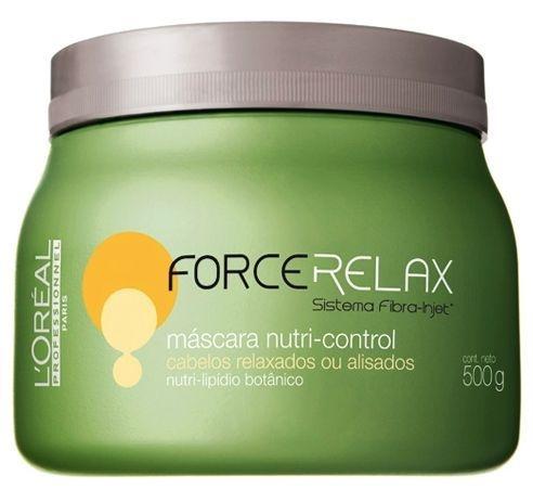 Loreal Máscara Force Relax Nutri-control p/ Alisados - 500g