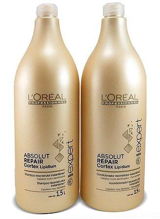 Loreal Absolut Repair Kit Shampoo e Cond - 2 x 1.5L