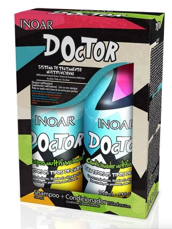 Inoar Doctor Shampoo e Condicionador Kit 2x250ml