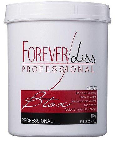 Forever Liss B.tox Capilar Argan Oil Profissional - 1Kg