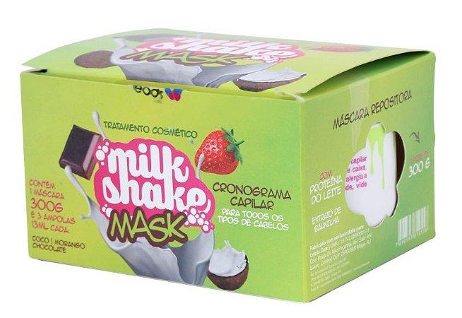 Leads Care Milk Shake Mask Kit Cronograma Capilar (4 Itens)