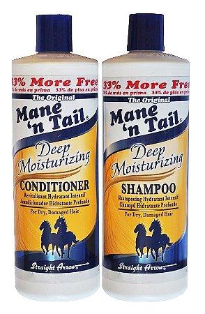 Mane n Tail Kit Deep Moist Hidratação Profunda - (2 x 946ml)