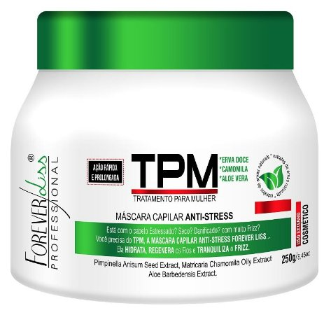 Forever Liss TPM Máscara Anti Stress 250g (+Brinde)