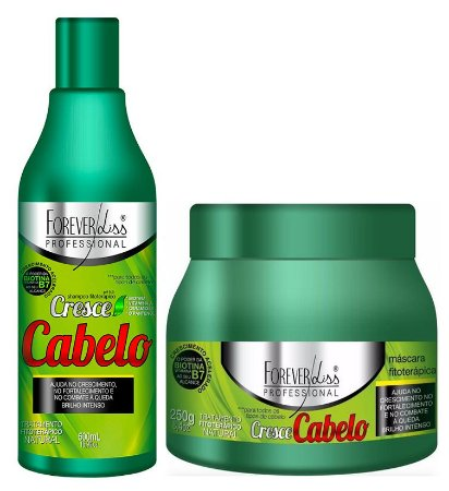 Forever Liss Cresce Cabelo Kit Fitoterápico - 250g