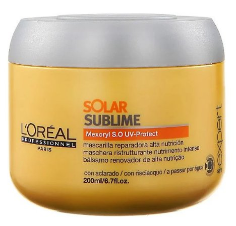 Loreal Solar Sublime Máscara Pós Mar e Piscina - 200ml