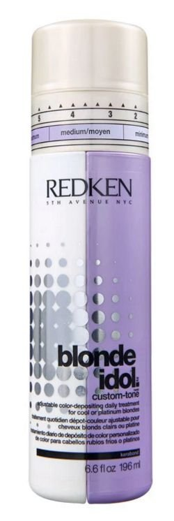 Redken Blonde Idol Custom-Tone Violet Conditioner- Desamarelador 196ml