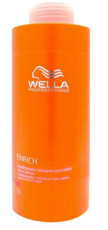 Wella Professionals Enrich Creme Condicionador Hidratante - 1 Litro
