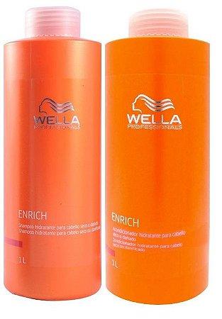 Wella Professionals Enrich Kit Litro (2 x 1Litro)