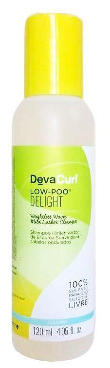 Deva Curl Delight Low-Poo Shampoo Higienizador 120ml