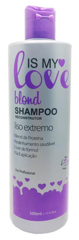 Is My Love Blond Shampoo que Alisa para Loiras - 500ml