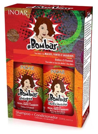 Inoar Bombar Kit Duo Home Care (2x 250ml) (+ Brinde)