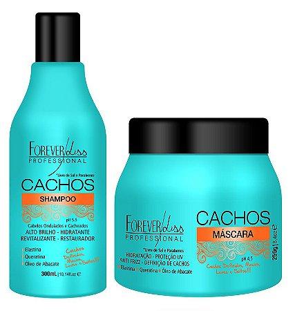 Forever Liss Cachos Perfeitos Kit Shampoo e Mascara