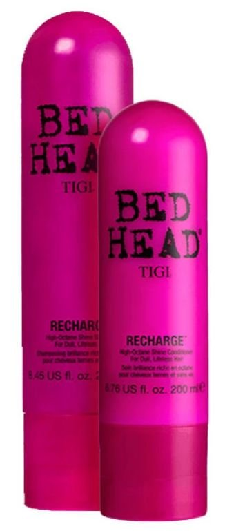 TIGI Bed Head Recharge High-Octane Shine Duo Kit (2 Produtos)