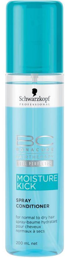 Schwarzkopf BC Bonacure Moisture Kick Spray Conditioner - 200ml