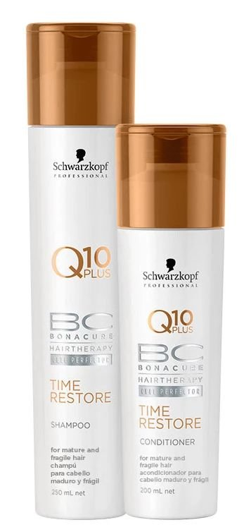 Schwarzkopf BC Bonacure Q10 Time Restore Duo Kit (2 Produtos)
