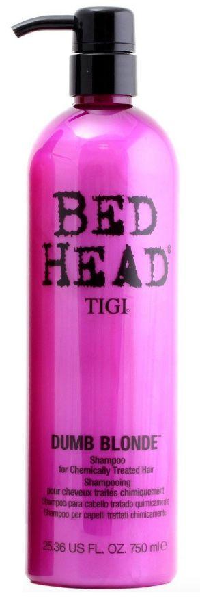 TIGI Bed Head Dumb Blonde for Chemically  Loiras - Shampoo 750ml