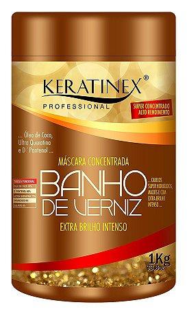 Banho de Verniz Extra Brilho Intenso Keratinex 1kg