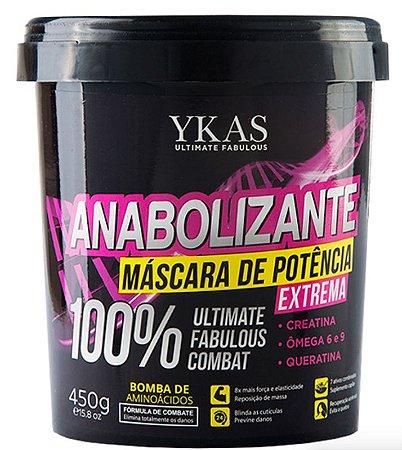 Ykas Anabolizante Capilar Máscara de Potência Extrema 450g