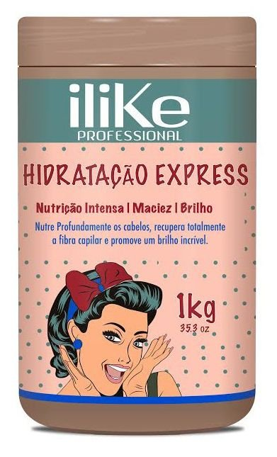ILike Professional Hidratação Express Máscara - 1kg