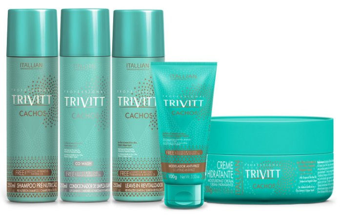 Itallian Trivitt Kit Cachos c/ 5 Produtos