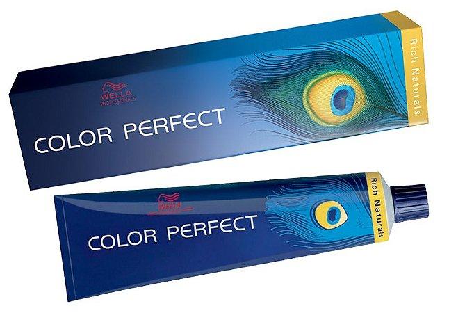 Tintura Wella Color Perfect 9/11 Louro Ultraclaro Cinza Intenso - 60g