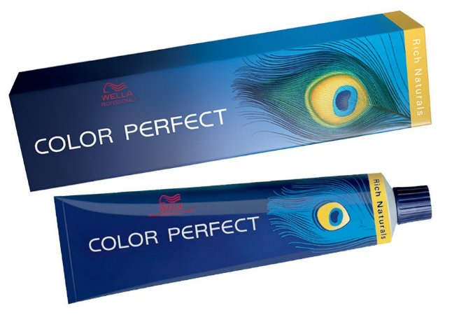 Tintura Wella Color Perfect 5/1 Castanho Claro Acinzentado - 60g