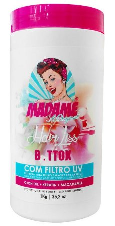 B.tox Capilar Madame Hair Liss c/ Filtro UV - 1kg (+ Brinde)